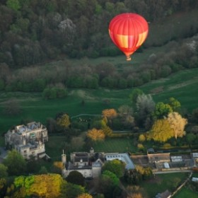 Hot air ballooning. Country villages. Pony Treks. The Skies the Limit.