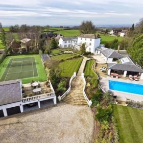 Pool, garden and grounds